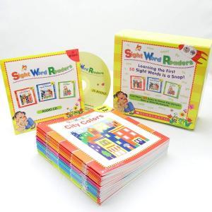 Scholastic Sight Word Readers 英語教材 25冊 ボックスセット ワーク...