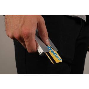 Veered Wallet カード&小銭入れ付 マネークリップ 航空機グレードアルミニウム製 Bla...