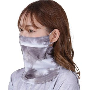 ICEPARDAL(アイスパーダル) 全10色柄 UVカットマスク フェイスガード イヤーフック付き 日焼け防止 冷感 UPF50+ IAA|heros-shop