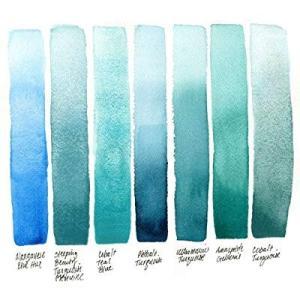 Daniel Smith ダニエル・スミス 水彩絵具 15mlチューブ (Ultramarine Turquoise) 284600105|heros-shop
