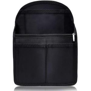 VILAU バッグインバッグ リュック 背面ポケットを大きく改良 トートバッグ 小型リュック用 PP...
