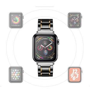 Apple Watch 対応 バンド Sakula セラミック製 アップルウォッチ ベルト Apple Watch Series 4 44m|heros-shop