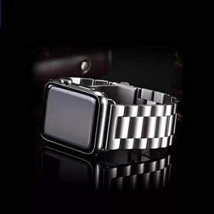FRICH Apple Watch メタルベルト ビジネス風 時計バンド アップルウォッチ ベルト 腕時計ストラップ バンド調整工具付き A|heros-shop