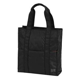 JOKnet トートバッグ メンズ A4 縦型 ミドルサイズ ファスナー 通勤 通学 ビジネス 男性用 ブラック F|heros-shop