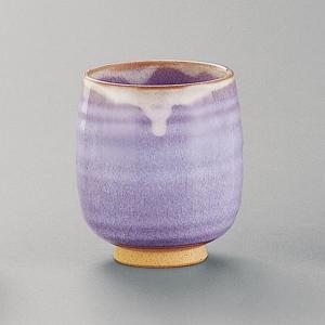 萩焼(はぎやき) 萩紫湯呑・小/折箱付|hesaka