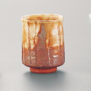 萩焼(はぎやき) 浅紅湯呑/折箱付|hesaka