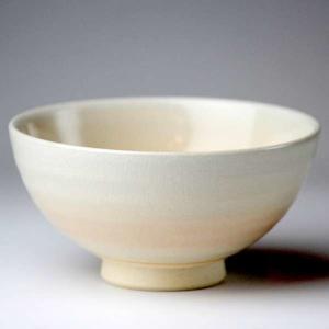萩焼(はぎやき) 姫土飯茶碗/折箱付|hesaka