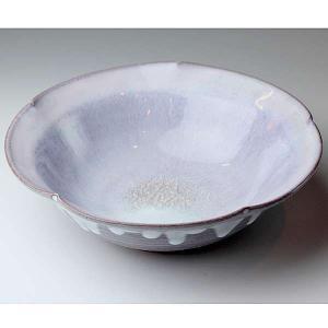 萩焼(はぎやき) 釉彩盛鉢/化粧箱付|hesaka