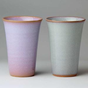 萩焼(はぎやき) 2色フリーカップ/化粧箱付|hesaka