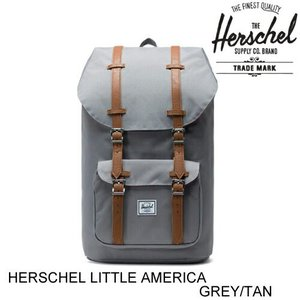 HERSCHEL ハーシェル LITTLE AMERICA GREY リトルアメリカ バックパック ...