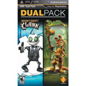 【お取り寄せ】Daxter and Secret Agent Clank Dual Pack - ダクスター&シークレットエージェントクランク デュアルパック (PSP 海外輸入北米版)|hexagonnystore