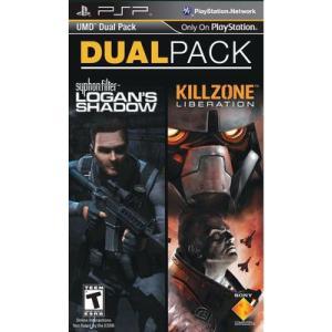[メール便不可] Killzone Liberation & Syphon Filter Logan's Shadow DualPack - キルゾーンリベレーション&ローガンズシャドウ (PSP 海外輸入北米版)|hexagonnystore