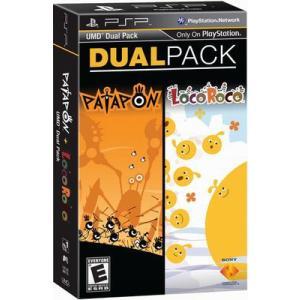 [メール便不可] Patapon & LocoRoco Dual Pack - パタポン & ロコロコ デュアルパック (PSP 海外輸入北米版ゲームソフト)|hexagonnystore