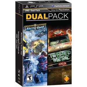 [メール便不可] MotorStrom Arctic Edge and Twisted Metal Head On DualPack - アークテックエッジ&ツイステッドメタルヘッドオン (PSP 海外輸入北米版)|hexagonnystore