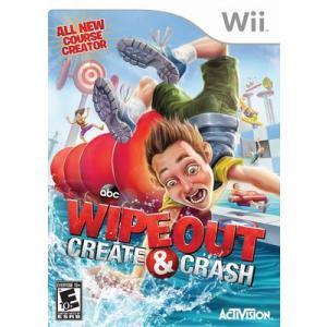 Wipeout: Create & Crash - ワイプアウト クリエイト アンド クラッシュ (Wii 海外輸入北米版ゲームソフト) hexagonnystore
