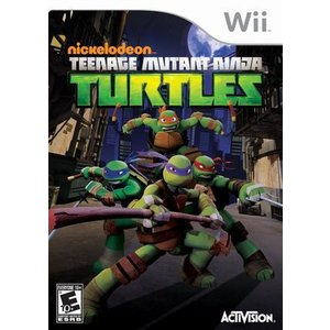 Teenage Mutant Ninja Turtles - ティーンエイジ ミュータント ニンジャ タートルズ (Wii 海外輸入北米版ゲームソフト) hexagonnystore