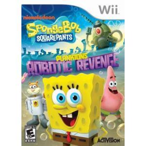 SpongeBob SquarePants: Plankton's Robotic Revenge - スポンジボブ スクエアパンツ プランクト ロボティック リベンジ (Wii 海外輸入北米版) hexagonnystore