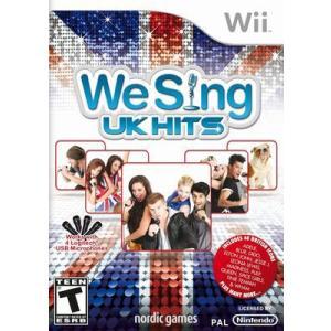 We Sing: UK Hits - ウィー シング UK ヒッツ (Wii 海外輸入北米版ゲームソフト) hexagonnystore