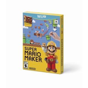 【在庫有り】 Super Mario Maker - スーパーマリオメーカー (WII U 海外輸入...