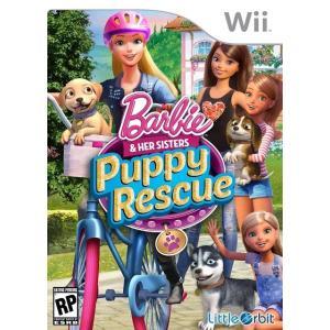 【お取り寄せ】 Barbie and Her Sisters: Puppy Rescue - バービー アンド ハー シスターズ パピー レスキュー (Wii 海外輸入北米版ゲームソフト) hexagonnystore