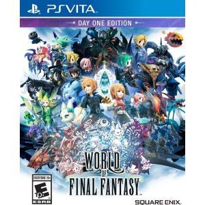 【取り寄せ】 World of Final Fantasy - ワールド オブ ファイナル ファンタジー (PS Vita 海外輸入北米版ゲームソフト)|hexagonnystore