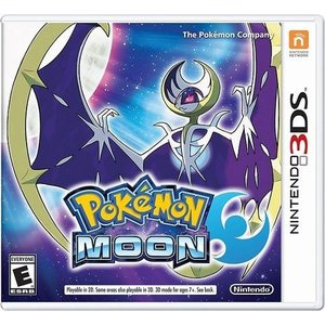 【取り寄せ】 Pokemon Moon - ポケットモンスター ムーン (Nintendo 3DS 海外輸入北米版ゲームソフト)|hexagonnystore
