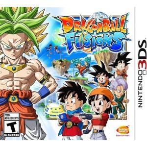 【取り寄せ】 Dragon Ball Fusions - ドラゴンボールフュージョンズ (Nintendo 3DS 海外輸入北米版ゲームソフト)|hexagonnystore