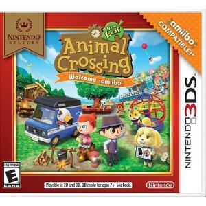 【取り寄せ】 Animal Crossing: New Leaf Welcome amiibo - アニマルクロッシング ニューリーフ ウェルカム アミーボ (Nintendo 3DS 北米版ゲームソフト)|hexagonnystore