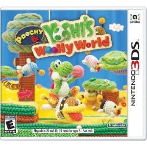 【取り寄せ】 Poochy & Yoshi's Woolly World - ポチと!ヨッシー ウールワールド (Nintendo 3DS 海外輸入北米版ゲームソフト)|hexagonnystore