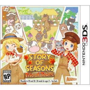 【取り寄せ】 Story of Seasons: Trio of Towns - 牧場物語 3つの里の大切な友だち (Nintendo 3DS 海外輸入北米版ゲームソフト)|hexagonnystore