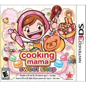 【取り寄せ】Cooking Mama: Sweet Shop - クッキング ママ スィート ショップ (Nintendo 3DS 海外輸入北米版ゲームソフト)|hexagonnystore