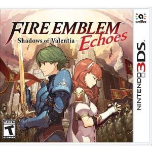 【取り寄せ】Fire Emblem Echoes: Shadows of Valentia - ファイアーエムブレム Echoes もうひとりの英雄王 (Nintendo 3DS 海外輸入北米版ゲームソフト)|hexagonnystore