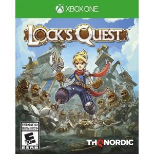 【取り寄せ】Lock's Quest - ロックス クエスト 新米アーキニアの百日戦争 リマスター (Xbox One 海外輸入北米版ゲームソフト)|hexagonnystore