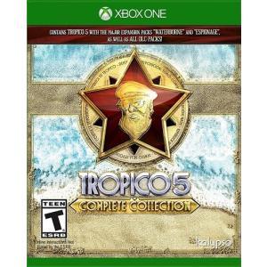【取り寄せ】Tropico 5 - Complete Collection - トロピコ 5 コンプリート エディション (Xbox One 海外輸入北米版ゲームソフト)|hexagonnystore