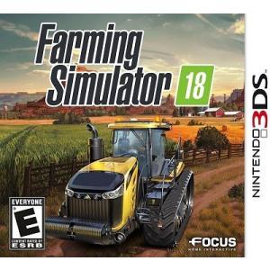 【取り寄せ】Farming Simulator 18 - ファーミングシミュレーター18 ポケット農園 4 (Nintendo 3DS 海外輸入北米版ゲームソフト)|hexagonnystore
