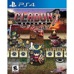 【取り寄せ】Cladun Returns: This is Sengoku ! - クラシックダンジョン 戦国 (PS4 海外輸入北米版ゲームソフト) hexagonnystore