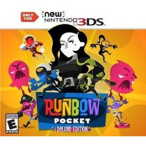 【取り寄せ】Runbow Pocket Deluxe Edition - ランボウ ポケット デラックス エディション (Nintendo 3DS 海外輸入北米版ゲームソフト)|hexagonnystore