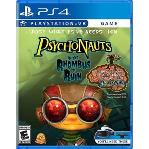 【取り寄せ】PSVR - Psychonauts In the Rhombus of Ruin - PSVR サイコノーツ イン ザ ロンバス オブ ルイン (PS4 海外輸入北米版ゲームソフト) hexagonnystore