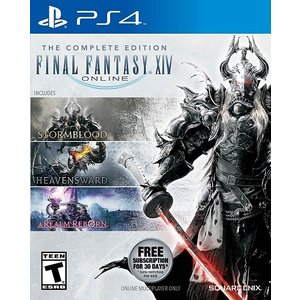 【取り寄せ】Final Fantasy XIV Online Complete Edition - ファイナルファンタジーXIV コンプリートパック (PS4 海外輸入北米版ゲームソフト) hexagonnystore