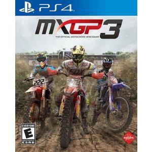 【取り寄せ】MXGP 3: The Official Motocross Videogame - MXGP 3 ザ オフィシャル モトクロス ビデオゲーム (PS4 海外輸入北米版ゲームソフト) hexagonnystore