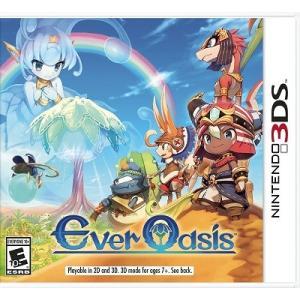 【取り寄せ】Ever Oasis - 精霊とタネビトの蜃気楼 (Nintendo 3DS 海外輸入北米版ゲームソフト)|hexagonnystore