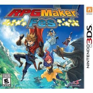 【取り寄せ】RPG Maker Fes - RPGツクール フェス (Nintendo 3DS 海外輸入北米版ゲームソフト)|hexagonnystore