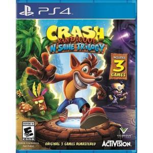 【取り寄せ】Crash Bandicoot N. Sane Trilogy - クラッシュ バンディクー ブッとび3段もり! HD リマスター (PS4 海外輸入北米版ゲームソフト) hexagonnystore
