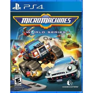 【取り寄せ】Micro Machines World Series - マイクロ マシーンズ ワールド シリーズ (PS4 海外輸入北米版ゲームソフト) hexagonnystore