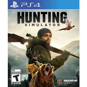 【取り寄せ】 Hunting Simulator - ハンティング シュミレーター (PS4 海外輸入北米版ゲームソフト) hexagonnystore