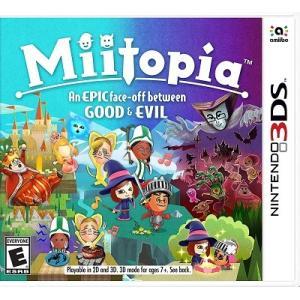 【取り寄せ】Miitopia - ミートピア (Nintendo 3DS 海外輸入北米版ゲームソフト)|hexagonnystore