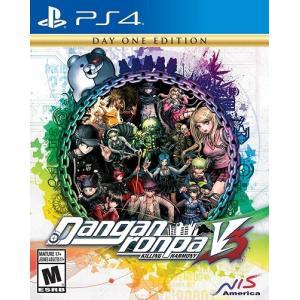 【取り寄せ】Danganronpa V3: Killing Harmony - ニューダンガンロンパ V3 みんなのコロシアイ新学期 (PS4 海外輸入北米版ゲームソフト)|hexagonnystore