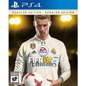 【取り寄せ】FIFA 18 Ronaldo Edition - FIFA 18 ロナウド エディション (PS4 海外輸入北米版ゲームソフト)|hexagonnystore