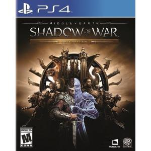 【取り寄せ】 Middle-Earth: Shadow Of War Gold Edition - ミドル アース シャドウ オブ ウォー ゴールド エディション (PS4 海外輸入北米版ゲームソフト)|hexagonnystore