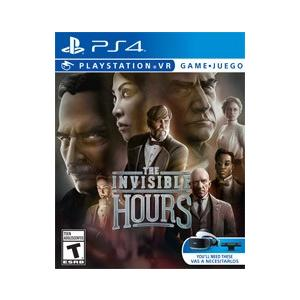 【取り寄せ】 PSVR The Invisible Hours - PSVR ザ インジブル アワ―ズ (PS4 海外輸入北米版ゲームソフト)|hexagonnystore